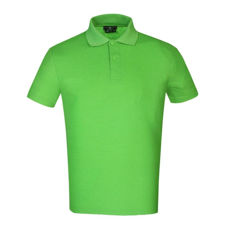 Donnay Cotton Polo Mens Lime