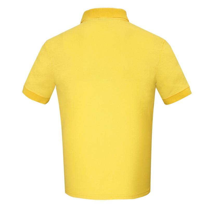 Donnay Rib Polo Mens Yellow