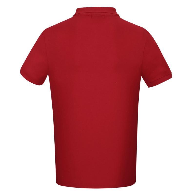 Donnay Rib Polo Mens Red