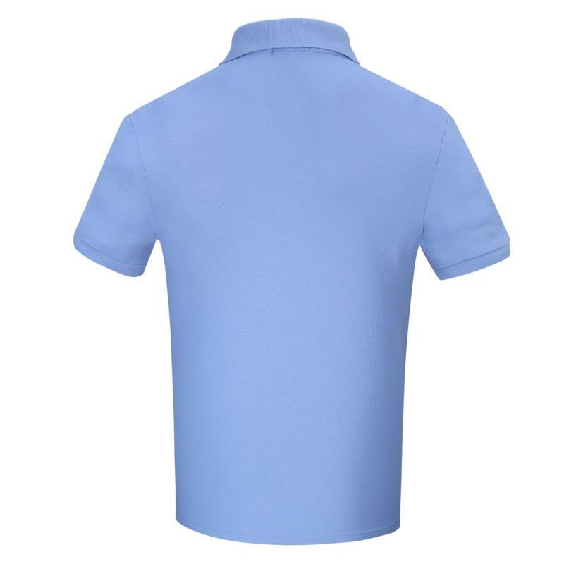 Donnay Rib Polo Mens Sky Blue