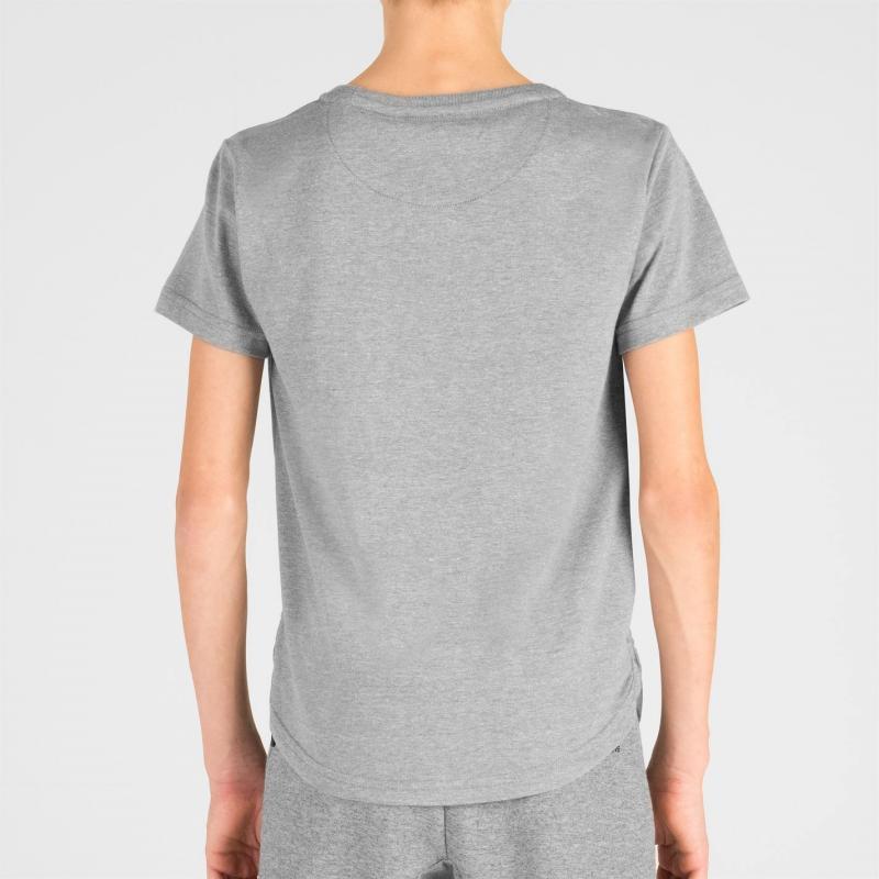 Tričko Five Street Large Logo T Shirt Junior Grey Marl