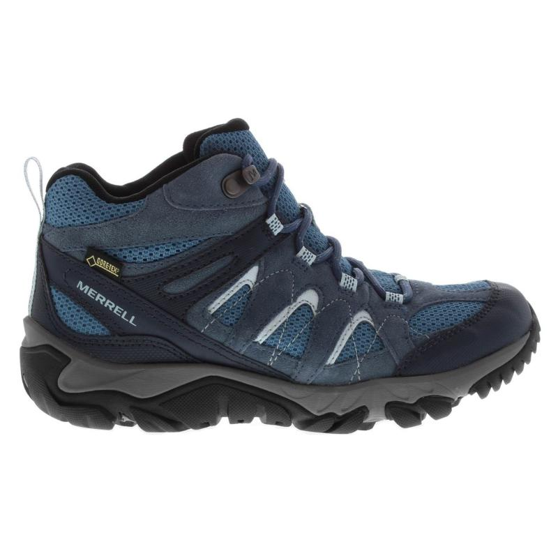 Merrell Outmost Vent Gore Tex Walking Boots Ladies Bering Sea