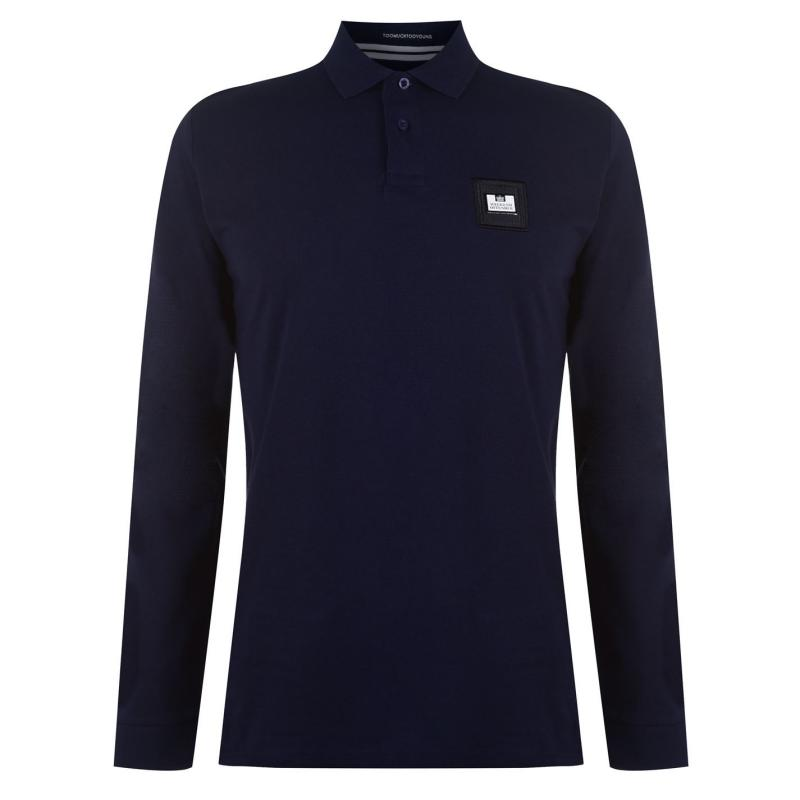 Weekend Offender Sandoval Polo Shirt Navy