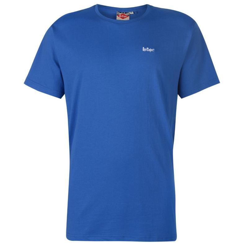 Tričko Lee Cooper Cooper Essentials Crew Neck T Shirt Mens Royal