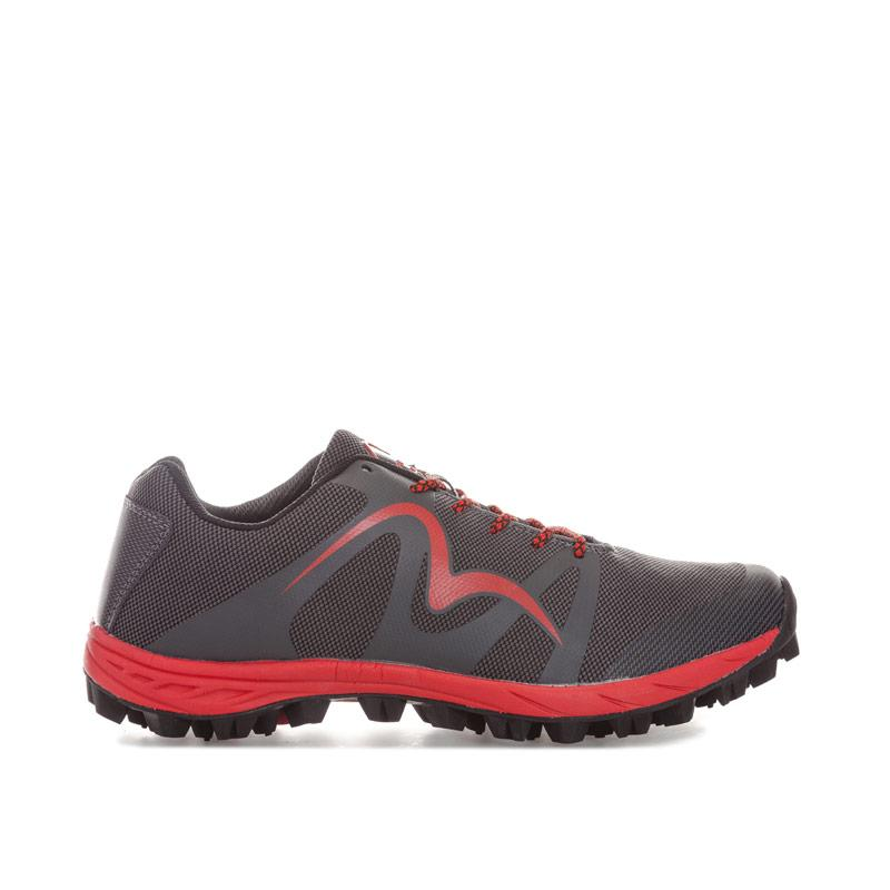 More Mile Mens Cheviot 4 Trail Running Trainers Black Red
