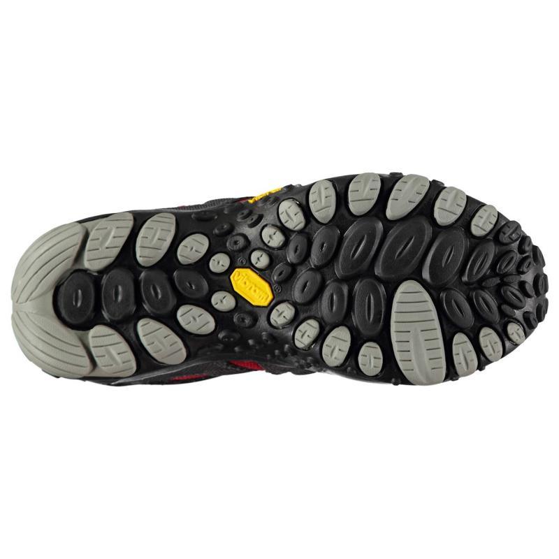 Merrell Chameleon Wrap Slam Mens Walking Shoes Charcoal/Red