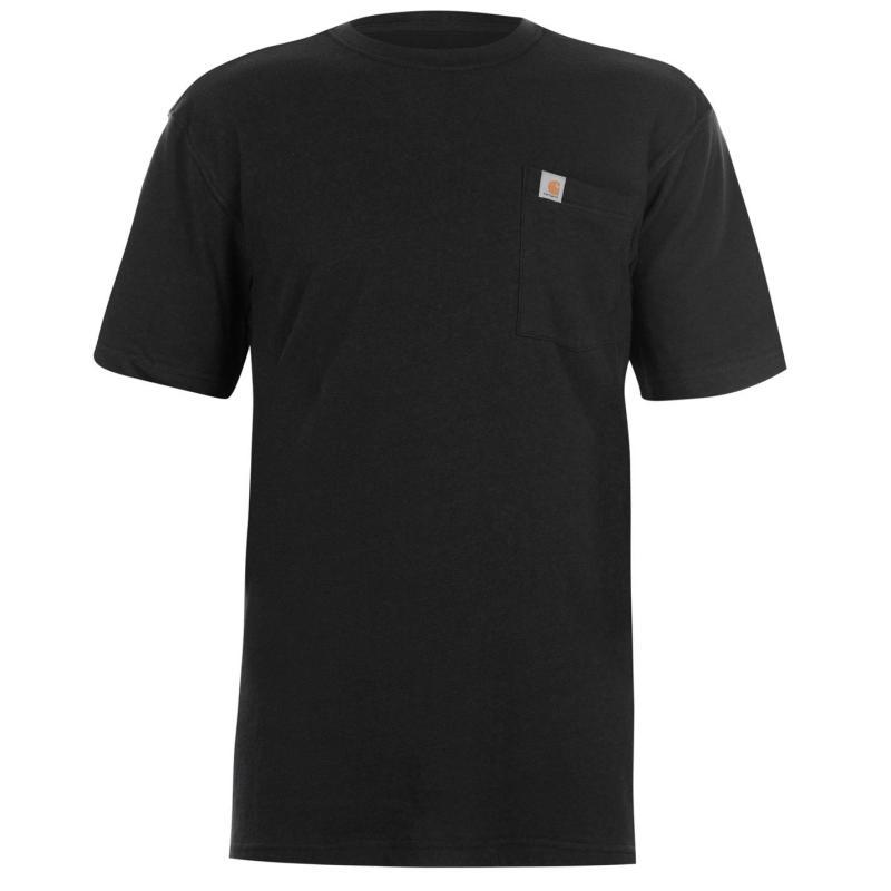 Tričko Carhartt Maddock Pocket T Shirt Heather Grey