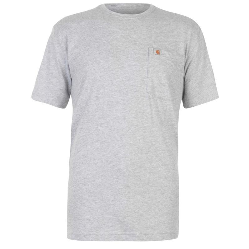 Tričko Carhartt Maddock Pocket T Shirt Black