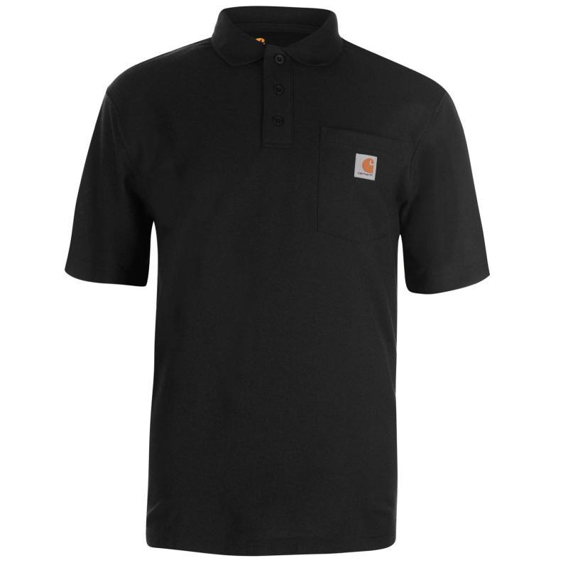 Carhartt Work Pocket Polo Black