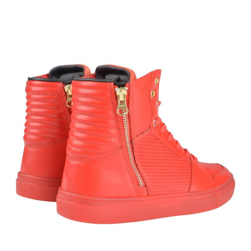 Creative Recreation High Top Trainers Red