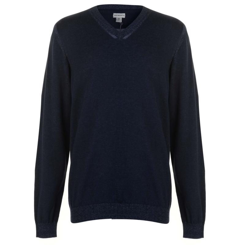Ashworth Sweater Mens Navy