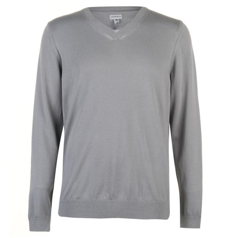 Ashworth Sweater Mens Green