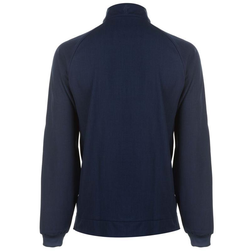 Ashworth Zip Pullover Mens Navy
