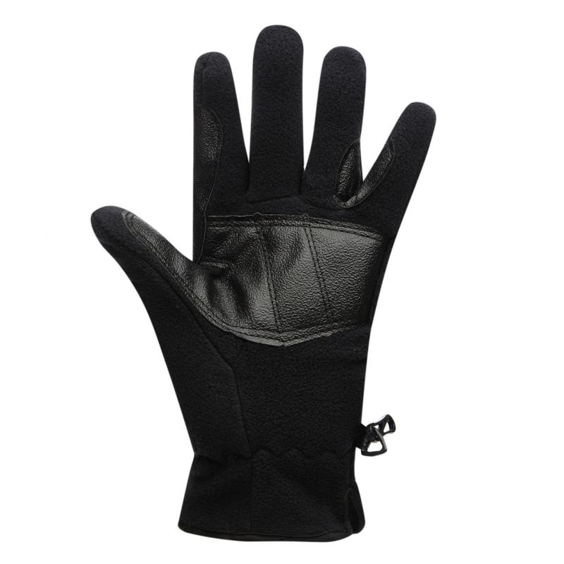 Dublin Polar Fleece Gloves Ladies Navy Velikost - 16 (XL)