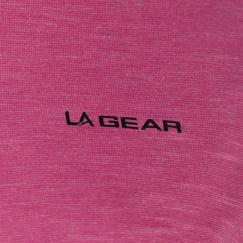 LA Gear Loose T Shirt Ladies Pink