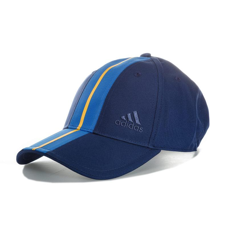 Adidas Performance Mens New York Climalite Cap Blue