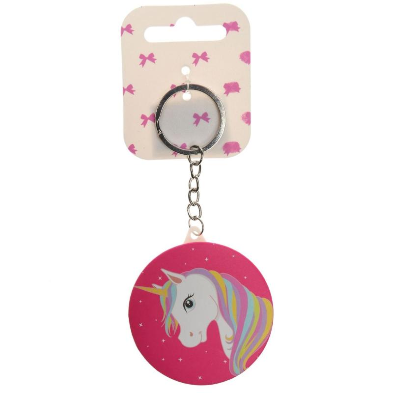 Miso Mini Girl Keyring Unicorn