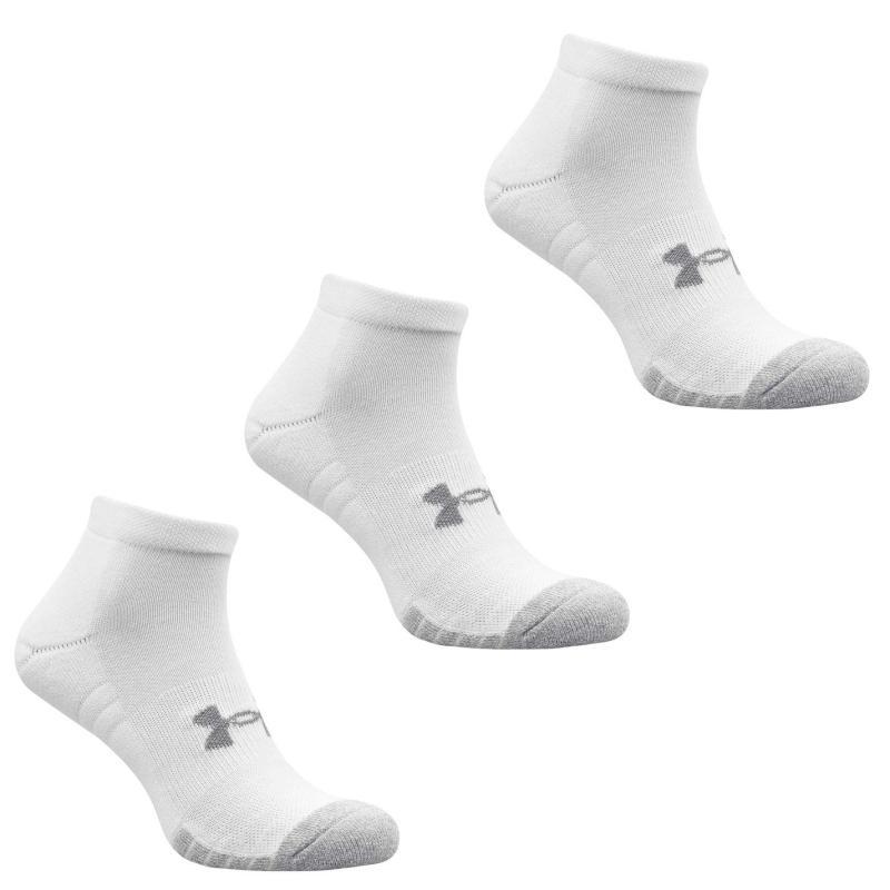 Ponožky Under Armour Tech Quarter 3 Pack Socks White