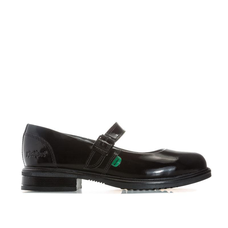 Kickers Womens Lach Mary Jane Patent Shoes Black