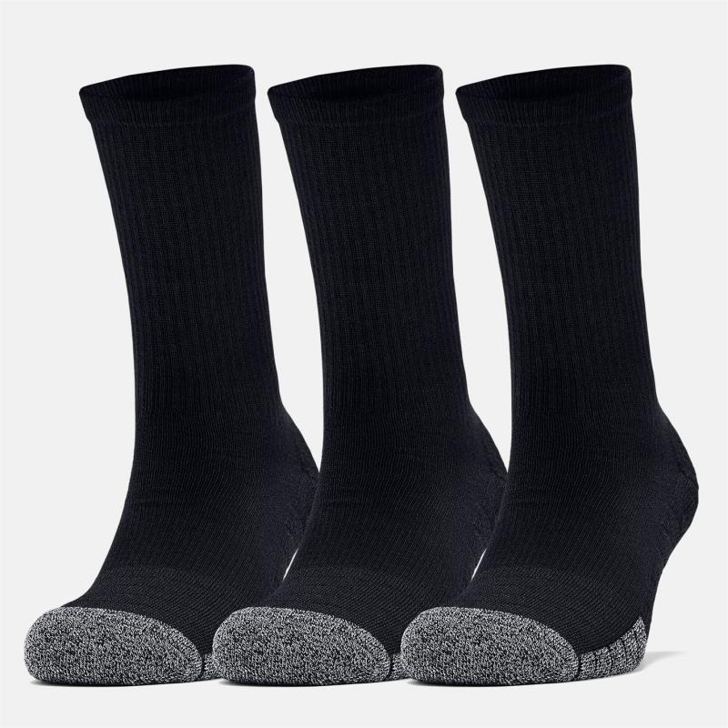 Ponožky Under Armour Tech Crew Socks 3 Pack Black