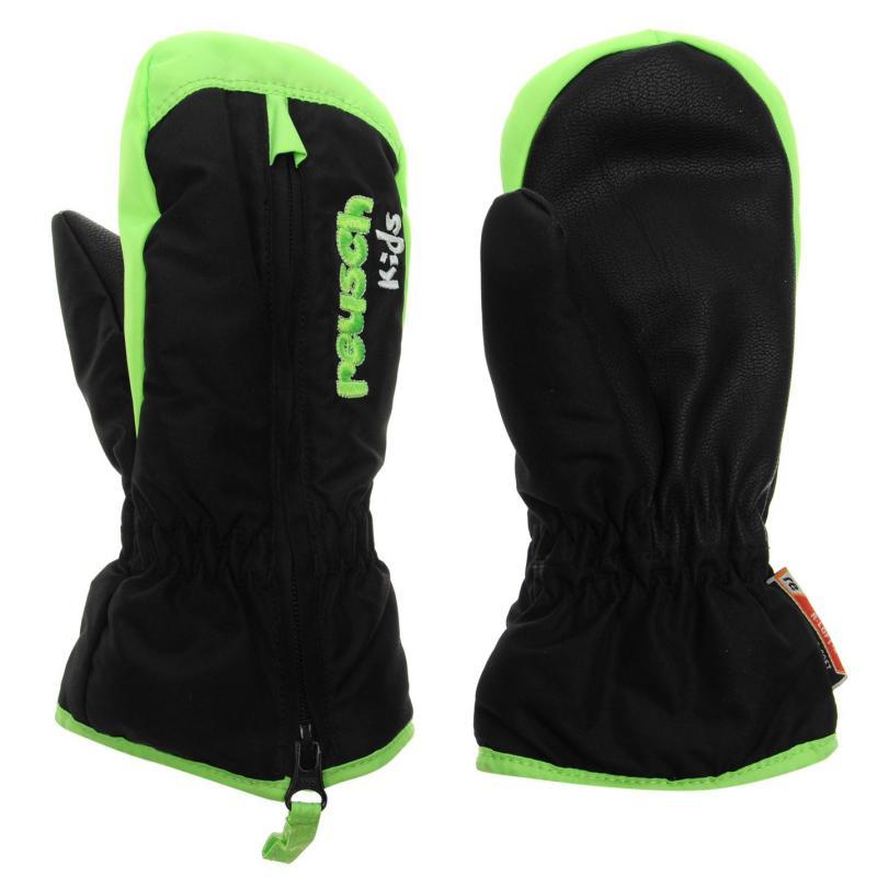 Marker Ben Mittens Juniors Black/Green