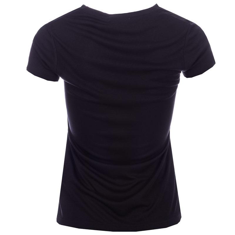 Henri Lloyd Womens Rosa V-Neck T-Shirt Black