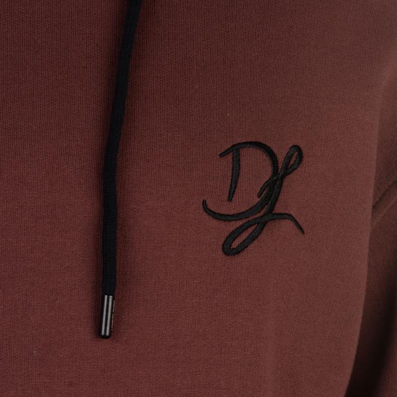 Mikina Dead Legacy Logo Hoodie Maroon Velikost - M