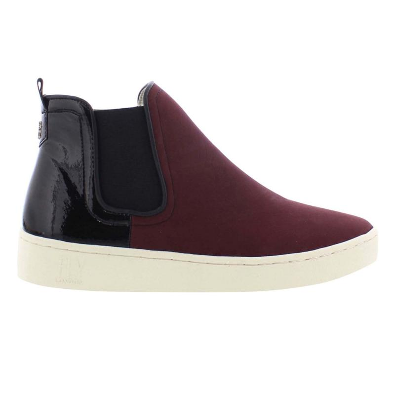 Fly London Mabs Boots Bordeaux/Black