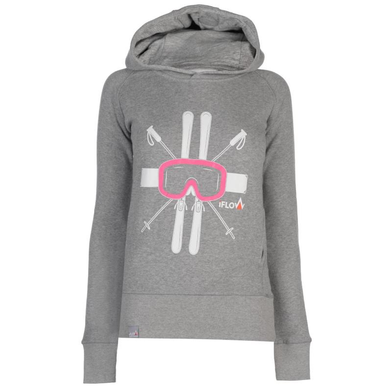 Mikina IFlow Hoody Ladies Pink