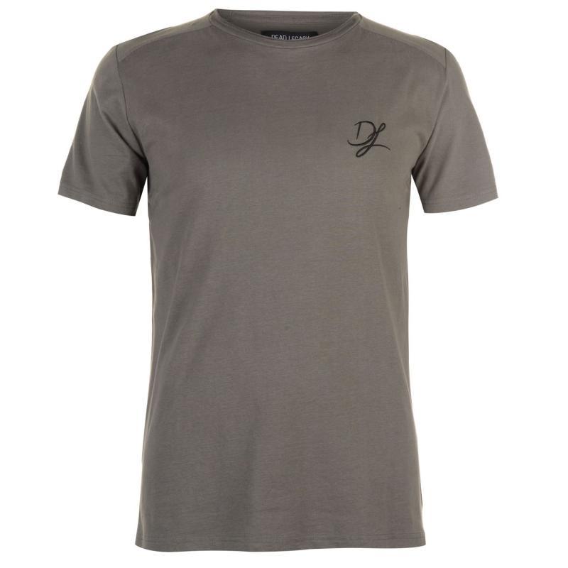 Tričko Dead Legacy Side Zip T Shirt Brown Velikost - L