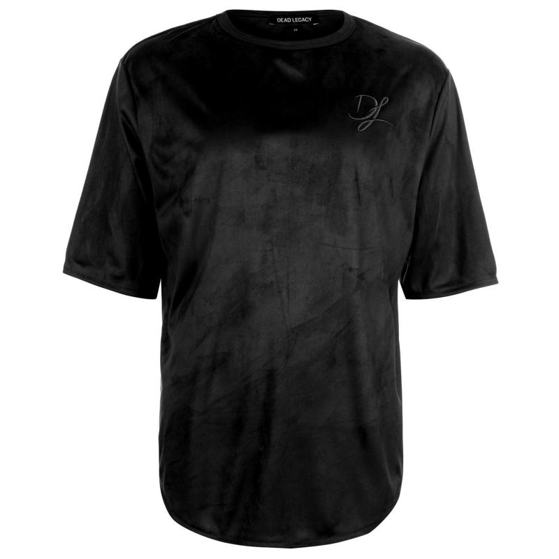 Tričko Dead Legacy Suedette Tee Black Velikost - XL