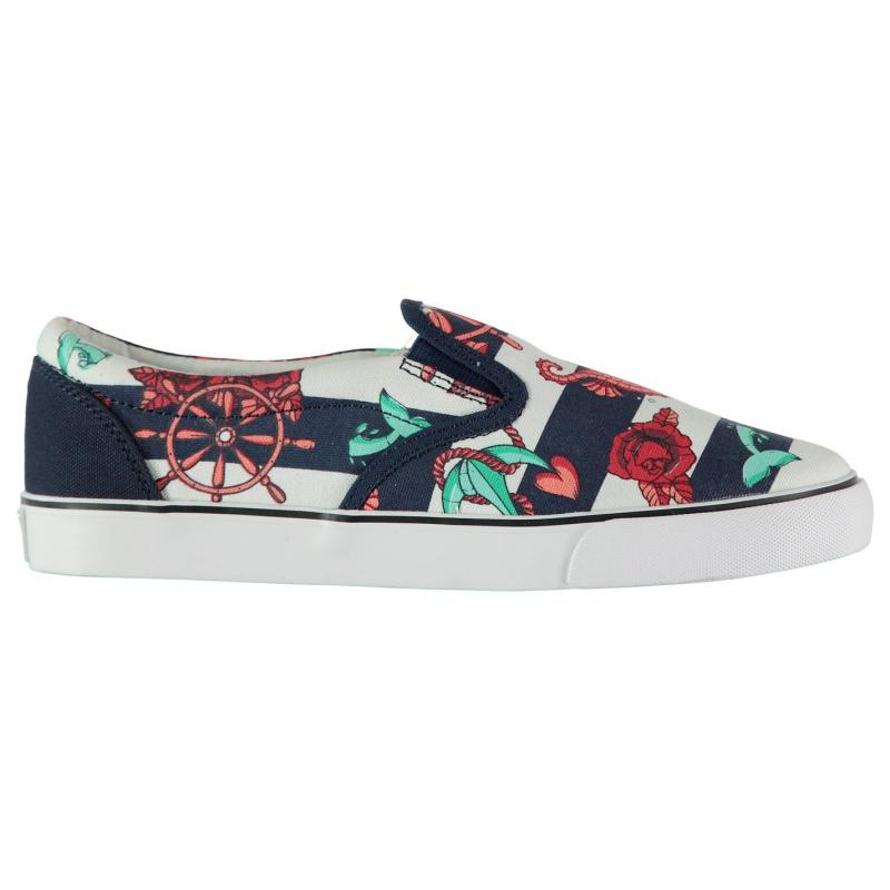 Iron Fist Ladies Flat Canvas Shoes She Sells