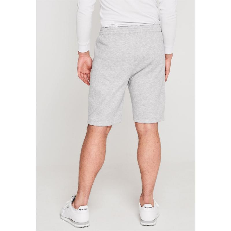Slazenger Fleece Shorts Mens Grey Marl