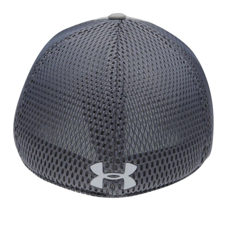 Under Armour Training Mesh Cap Mens Graphite/Coral