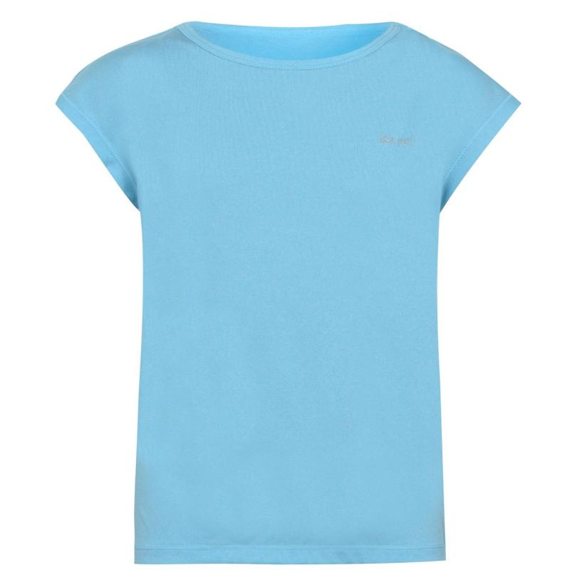 USA Pro Boyfriend Tee Junior Girls Bright Blue