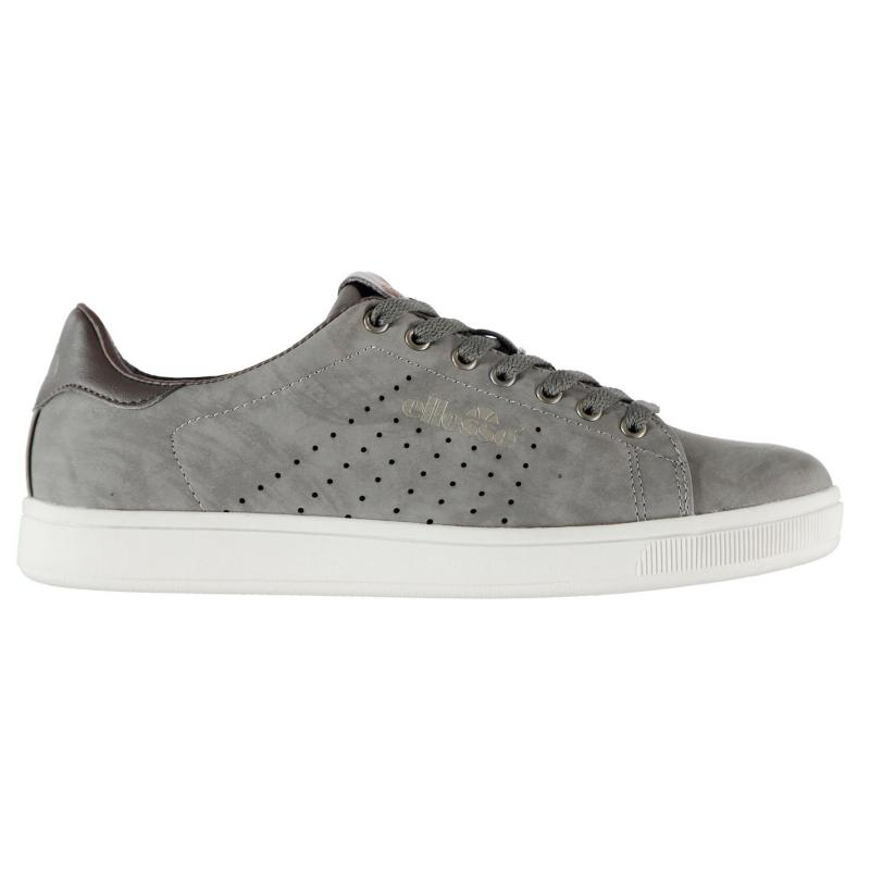 Ellesse Wills Mens Trainers Taupe Brown