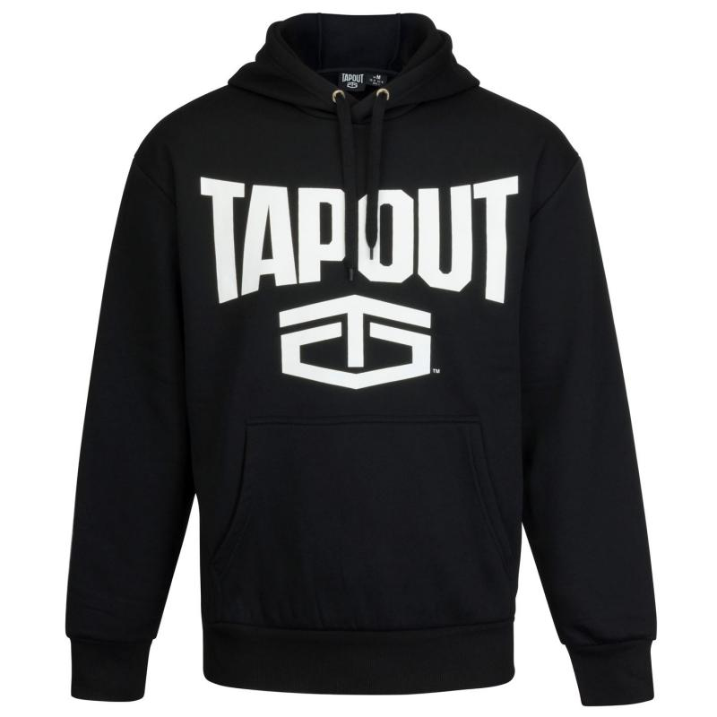 Mikina Tapout Large Logo Hoodie Mens Navy