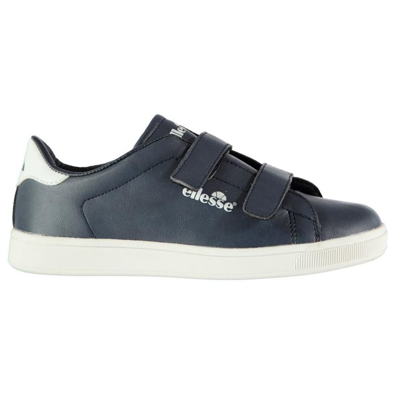 Ellesse Supersmith Childrens Trainers Navy/White