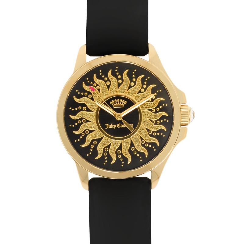 Juicy Couture Jetsetter Watch L84 Black/Gold