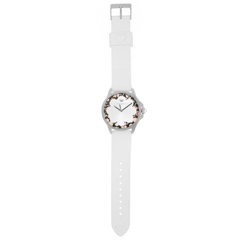 Juicy Couture Jetsetter Watch L84 White/Silver