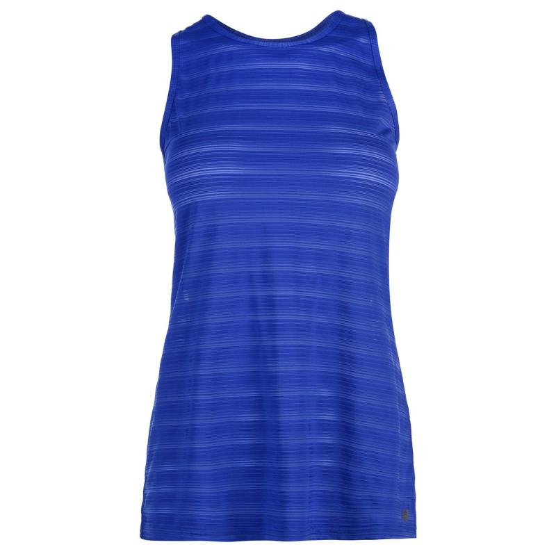 New Balance Mesh Tank Top Ladies UV Blue