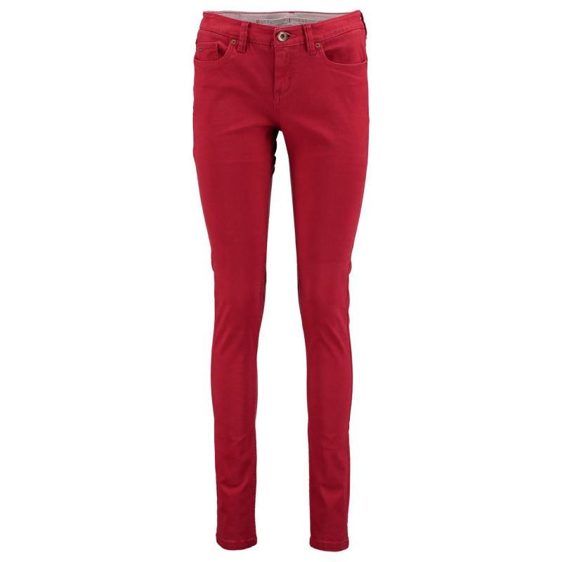 Kalhoty ONeill 5 Pocket Pants Ladies Red Dahila