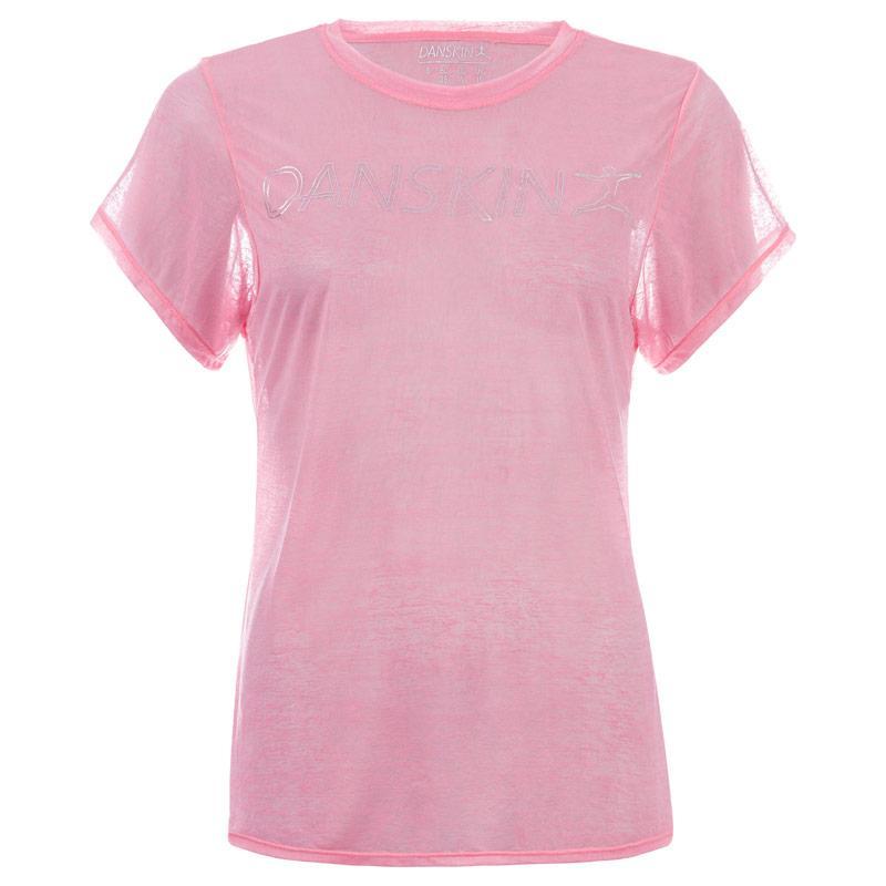 Danskin Womens Frumboli T-Shirt Pink