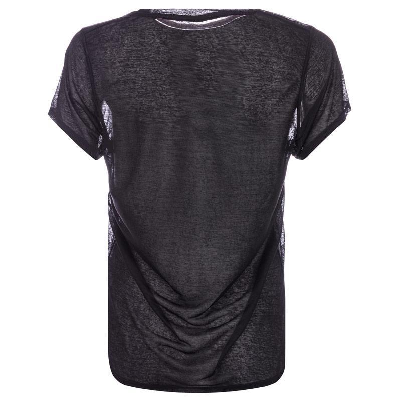 Danskin Womens Frumboli T-Shirt Black