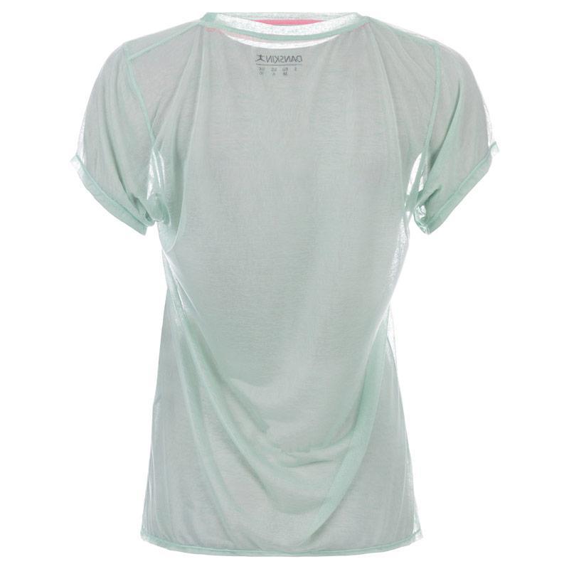 Danskin Womens Frumboli T-Shirt Green