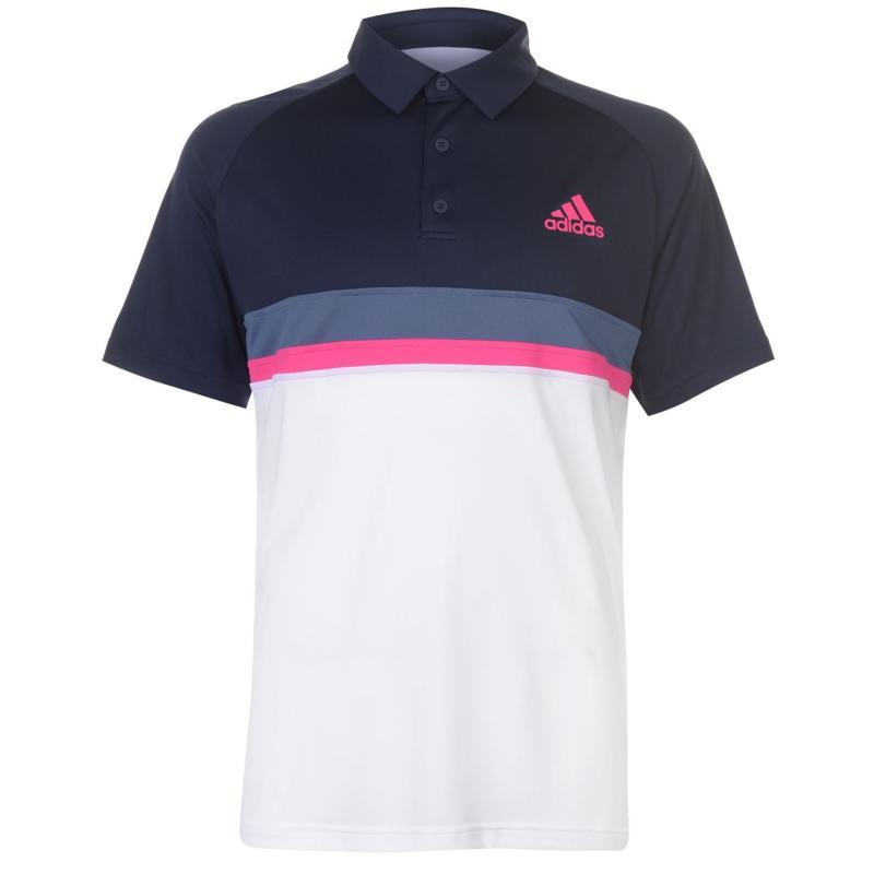 Adidas Club Polo Shirt Mens Scarlet