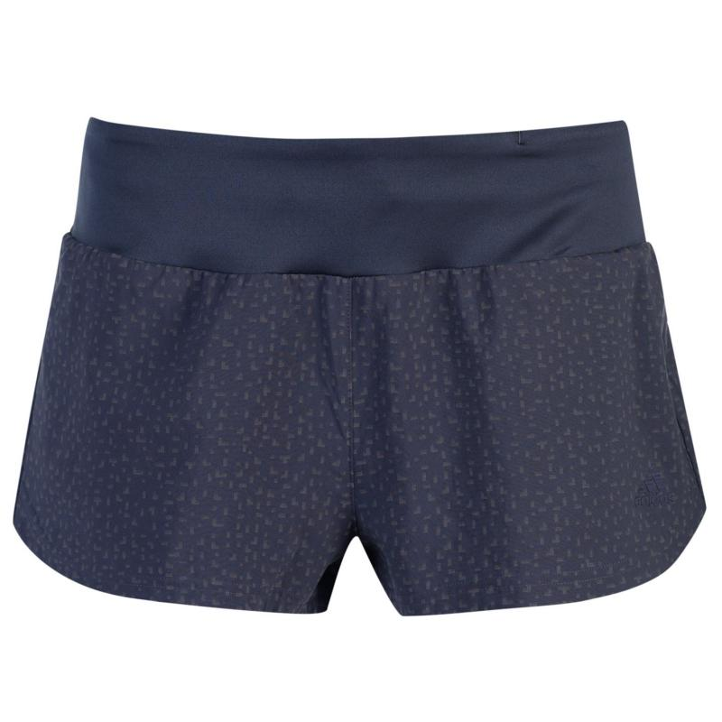 Adidas Supernova Glide Shorts Ladies Trace Blue