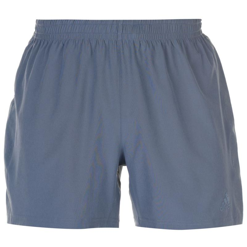 Adidas Supernova Shorts Mens Steel