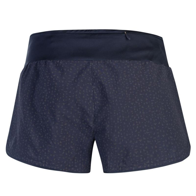 Adidas Supernova Glide Shorts Ladies Trace Blue AOP