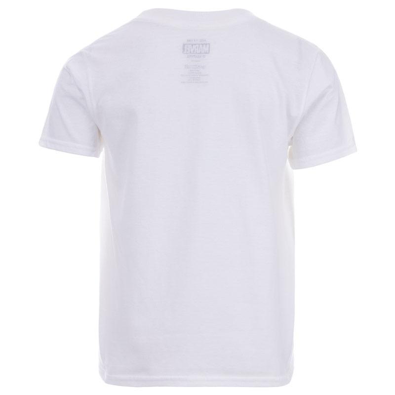 Tričko Junior Boys Marvel Superheroes T-Shirt White
